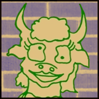 Agricola the female minotaur character picture